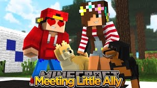 Minecraft Adventure - LITTLE ROPO HAS A CRUSH ON LITTLE ALLY!!!