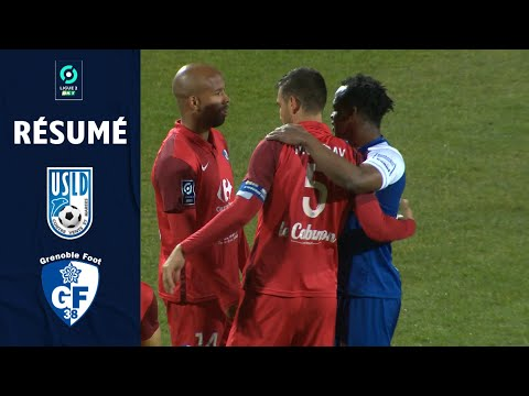 Dunkerque Grenoble Goals And Highlights