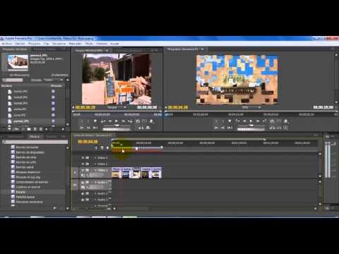 Adobe Premiere Armar Pelicula con Fotos Videos y Títulos