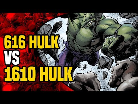 Hulk vs Hulk: Earth 616 Hulk vs Earth 1610  Ultimates Hulk ( Secret Wars Battleworld )