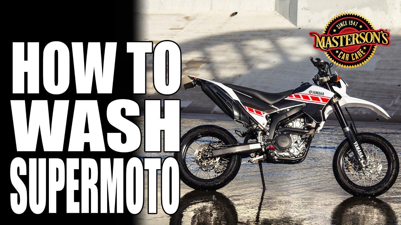 How To Wash Supermoto Dirt Bikes Masterson S Car Care Yamaha