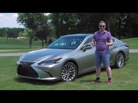 Новейший Lexus ES. Реальный конкурент BMW 5 и Audi A6 Полный обзор