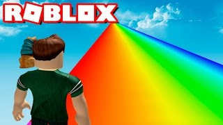 999,999,999 METERS ARCOIRIS IN ROBLOX