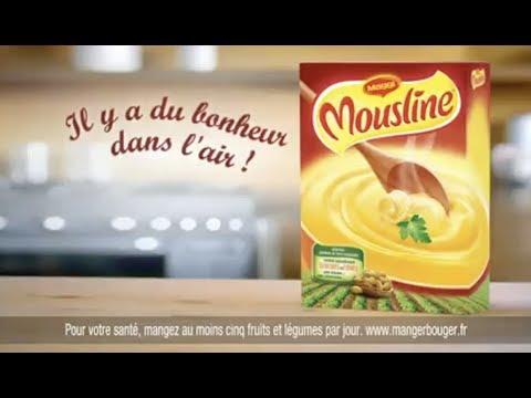 Vidéo Mousline pub