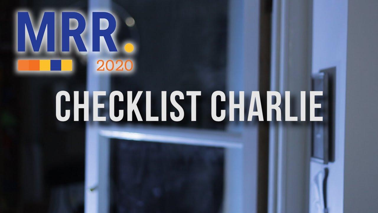 Checklist Charlie | MyRodeReel2020
