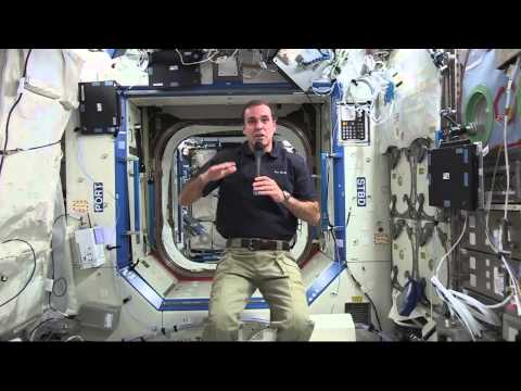 Space Station Crewmember Discusses Life in Space with News Media