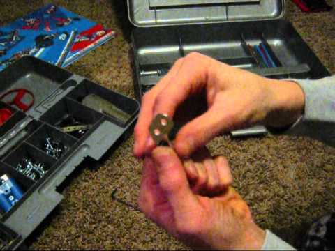 How to make pliers from an ERECTOR SET