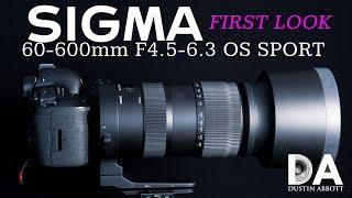 Sigma 60-600mm F4.5-6.3 Sport: First Look | 4K