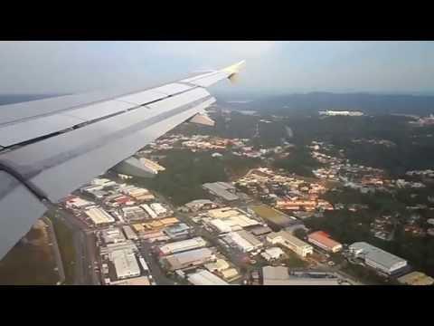 Royal Brunei Airlines Landing in Bandar Seri Begawan from Jakarta