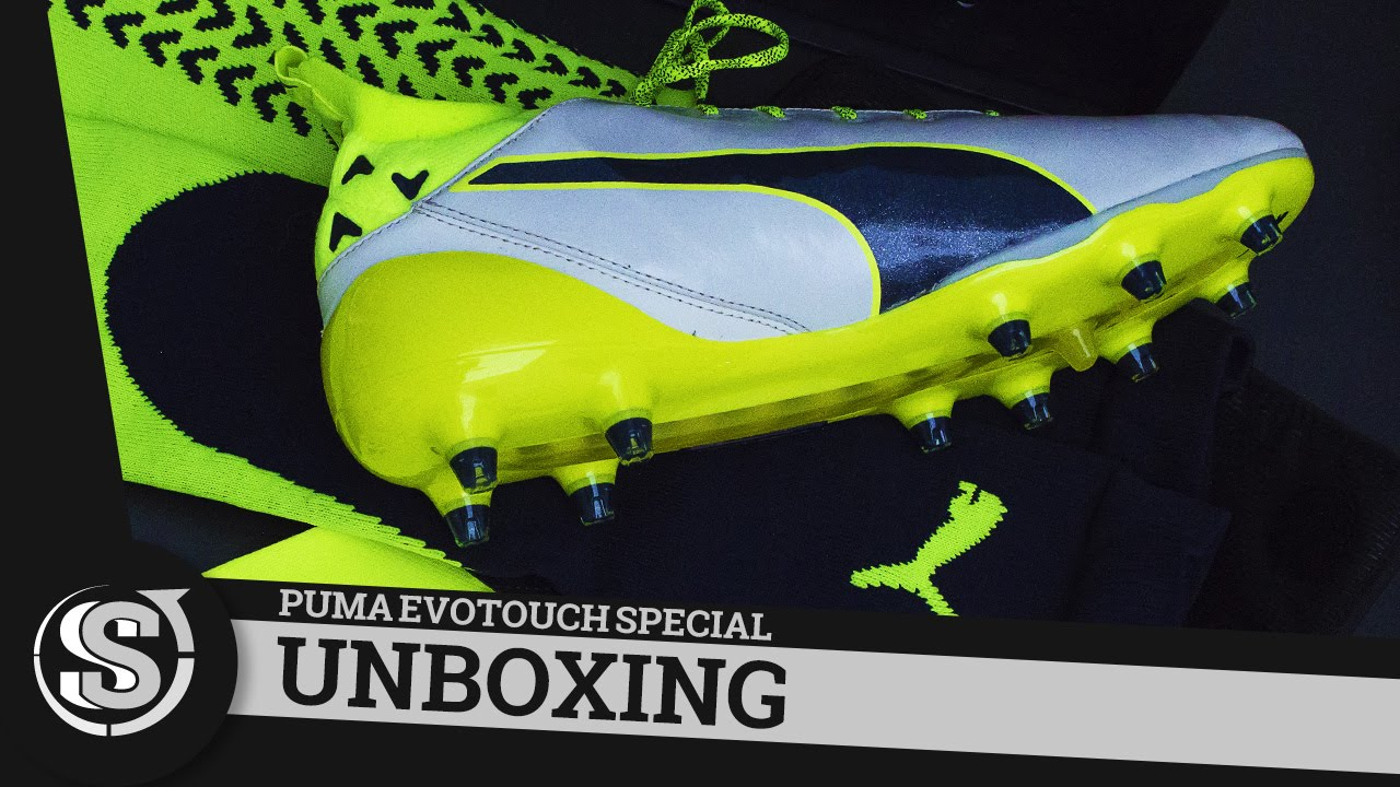 5d9ef3925 Puma EvoTouch Pro White Special Edition - Unboxing - YouTube