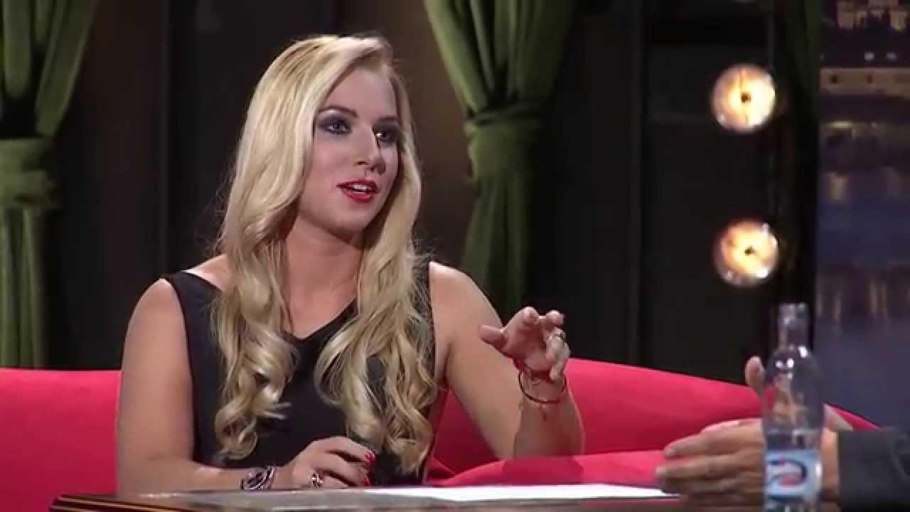 2. Dominika Cibulková - Show Jana Krause 8. 10. 2014
