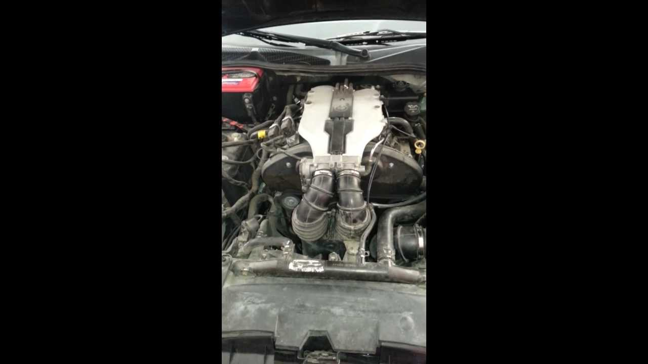 Weird Noise Coming From Belt 2003 Cadillac Cts Youtube Saturn V6 Timing Parts