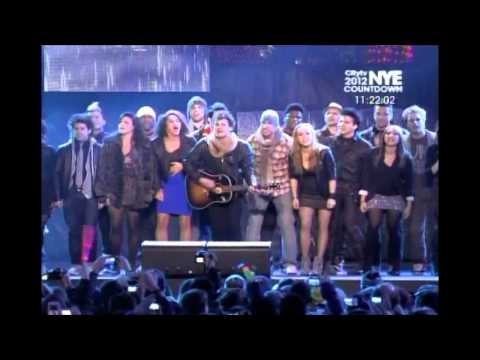 CityTv New Year's Bash 2012 - Cast of American Idiot (31-12-11)
