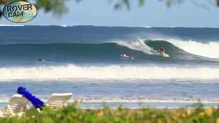 Surfing at Tamarindo, Costa Rica 1/28/14