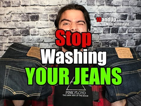 How To Clean Jeans | Stop Washing Your Jeans!