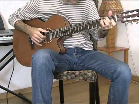 Paul Simon - Red Rubber Ball (Fingerstyle Guitar Cover)