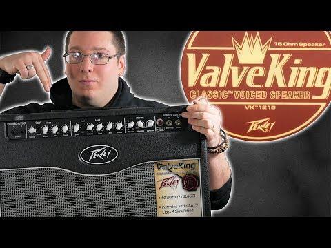 "Peavey Valveking II 50W (1x12"") Combo Tube Amp Demo"