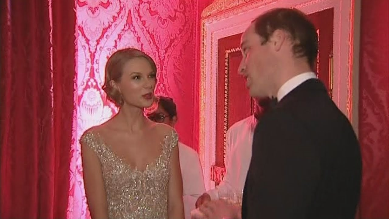 Taylor Swift Meets Prince William At Kensington Palace