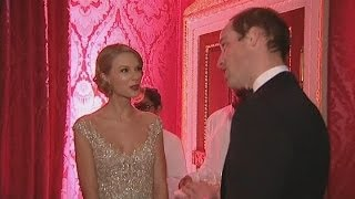 Taylor Swift meets Prince William at Kensington Palace charity concert
