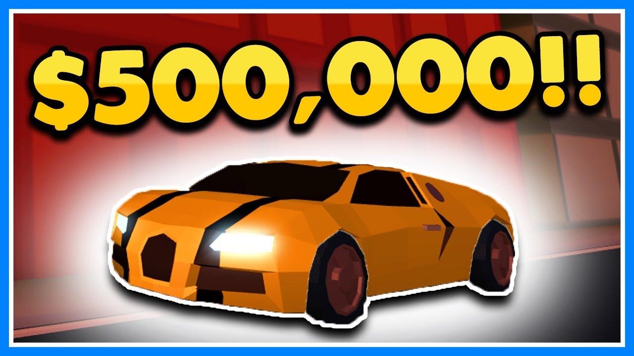 BUYING THE NEW $500,000 BUGATTI SUPER CAR | ROBLOX JAILBREAK (Stream  Highlight)