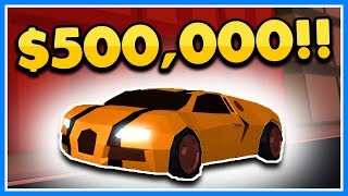 BUYING THE NEW $500,000 BUGATTI SUPER CAR | ROBLOX JAILBREAK (Stream Highlight)
