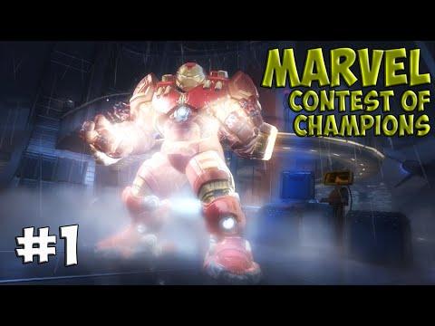 MARVEL Contest Of Champions. Прохождение №1 (Gameplay IOS/Android)