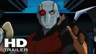 SUICIDE SQUAD: Hell to Pay - Trailer Debut 2018 (Tara Strong, Christian Slater) Animation Movie
