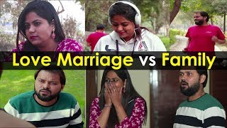 Love Marriage Vs Family - Inspirational Video  FUDDUKALAKAR