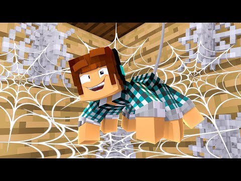 NOVA CASA DA ARANHA !! [ Vida de Aranha #3 ] - Minecraft