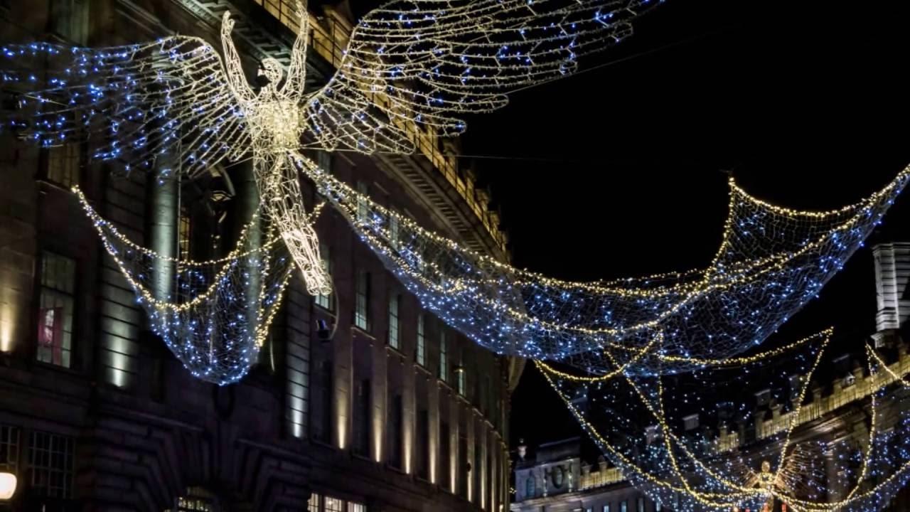 Christmas lights- Regent Street, London - YouTube