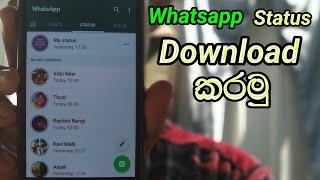 🔥 How to download Whatsapp Status | Sinhala Tips & Tricks 🇱🇰 | Thusi Bro