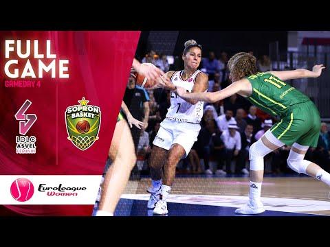 LDLC ASVEL Feminin  V Sopron Basket - Full Game - EuroLeague Women 2019-20
