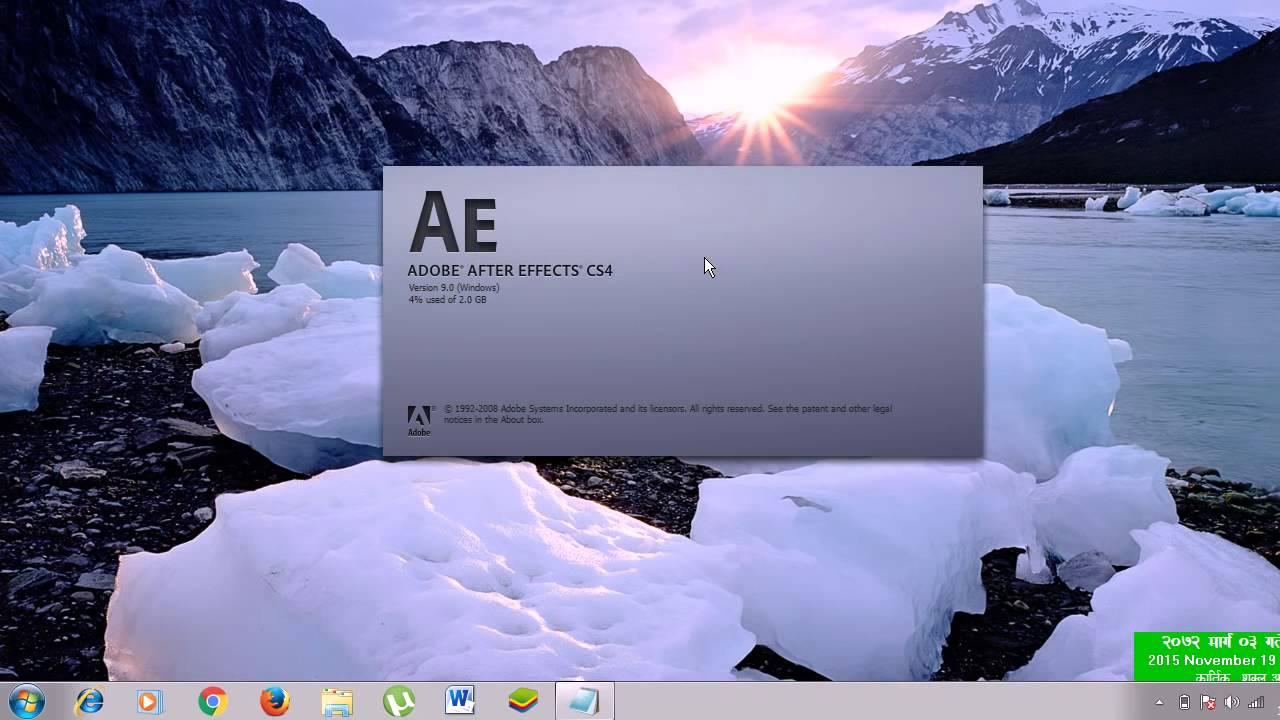 Adobe photoshop cs4 update download.