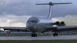 Vickers VC-10 awesome airliner! **feel the noise**
