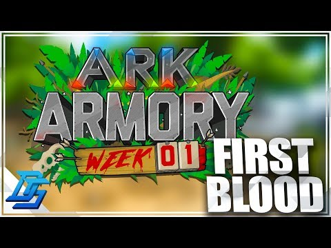 Ark Armory Week 1, FIRST BLOOD , Capture the Dodo!- Ark Survival Evolved - Ark Armory- Part 5