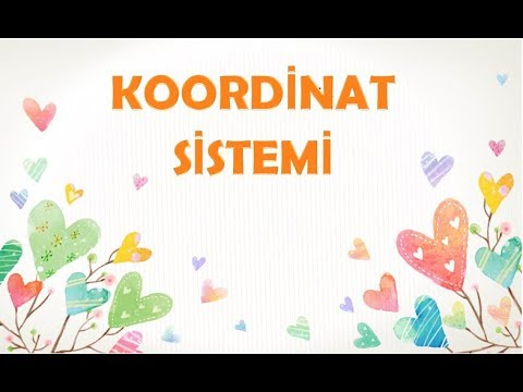 KOORDİNAT SİSTEMİ-7.SINIF MATEMATİK