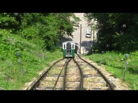 The Fenelon Place Funicular Railway/Elevator in Dubuque, IA