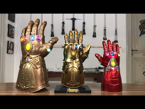 Infinity Gauntlet: Lifesize, Diecast with Articulated Fingers