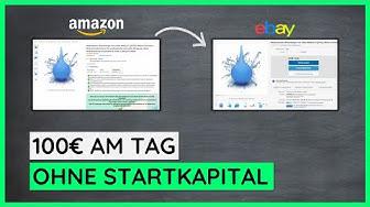 100€-Ebay-Strategie ➤ So verdienst Du 100€ am Tag ohne Startkapital mit Ebay Dropshipping