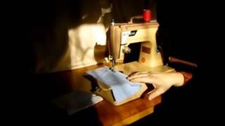 Belvedere sewing machine demonstration
