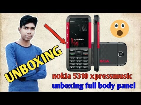 nokia 5310 xpressmusic unboxing full body panel|unboxing nokia 5310 xpressmusic|Technical Ashish