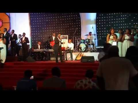 Overflow Inc sings (Only You) Eric Jeshurun at Concert (Backstage Video).