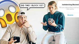 BLOCKING OUR FRIENDS ON INSTAGRAM TO SEE IF THEY NOTICE!