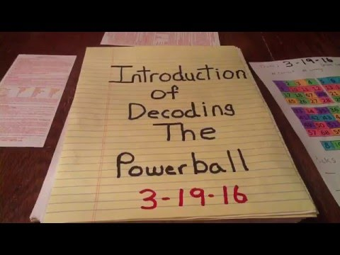 Decoding the Powerball #1 Introduction