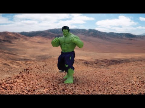 HULK CGI Test - Motion Capture (Animations)