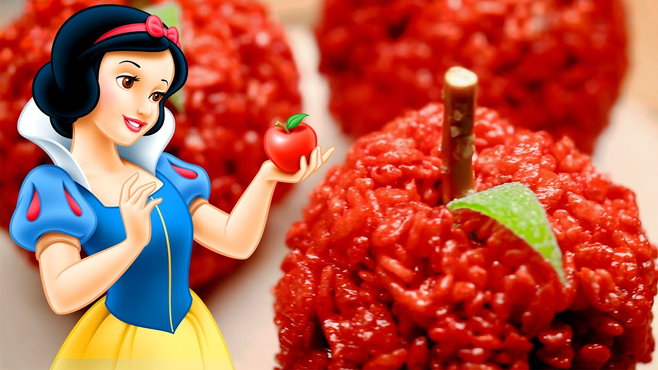 snow white red apple treats dishes by disney youtube