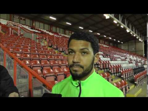 Jobi McAnuff speaks after his first Orient League start