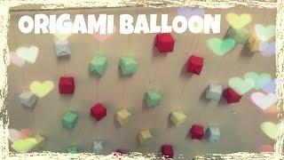 DIY - Gấp những quả bóng nhỏ trang trí phòng