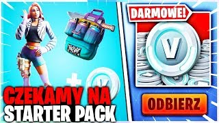 CZEKAMY NA STARTER PACK | CUSTOMY SOLO / END GAME W FORTNITE | hajTv - Na żywo