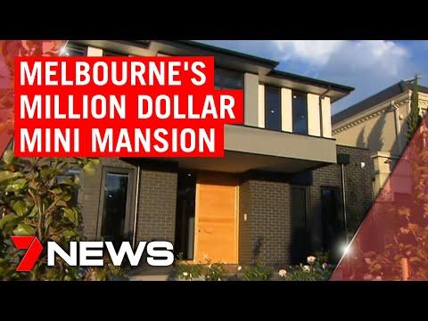 Inside Melbourne's million dollar mini mansion | 7NEWS